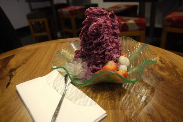 Blueberry Snow Ice